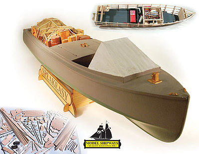 Model Shipways Speakeasy 1921 Rumrunner -- R/C Model Boat Kit -- #2070