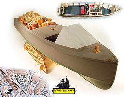 Model-Shipways Speakeasy 1921 Rumrunner R/C Model Boat Kit #2070