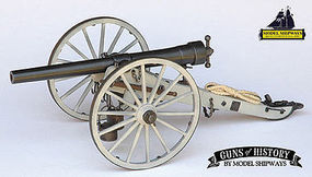 Model-Shipways Napoleon 1857 12-Pounder Cannon Model Cannon Kit 1/16 Scale #4003