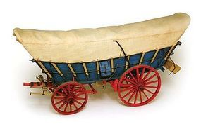 Model-Shipways Conestoga Wagon Wooden Model Wagon Kit 1/12 Scale #6002