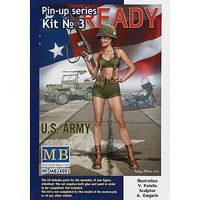 MasterBox 1/24 Alice US Army Pin-Up Series Kit #3