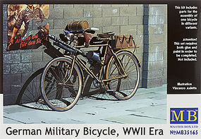 MasterBox GER MILITARY BICYCLE WW-II -35