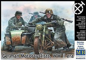 MasterBox GERMAN MOTORCYCLISTS 1-35