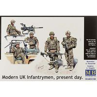 MasterBox 1/35 We Are Lucky Modern UK Infantrymen (5)