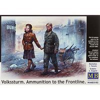 MasterBox VOLKSSTURM AMMO to The Front
