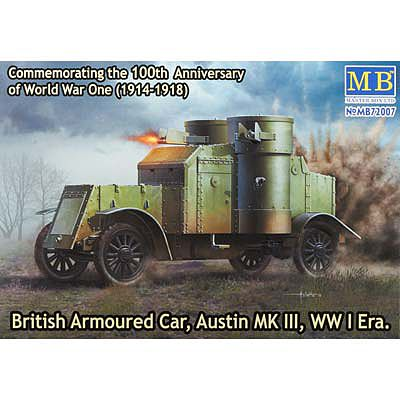 MasterBox BRITISH ARMOURED CAR Mk.III-72