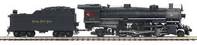 MTH-Electric O Hi-Rail 2-8-2 Mikado w/PS3, NKP #587