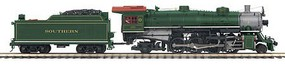 MTH-Electric O Hi-Rail 2-8-2 Mikado w/PS3, SOU/Green #4501