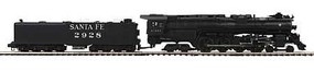 MTH-Electric O Hi-Rail 4-8-4 Northern w/PS3, SF #2928