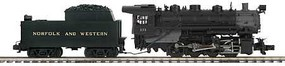MTH-Electric O Hi-Rail 0-8-0 w/PS3, N&W #273