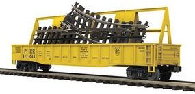 MTH-Electric O Gondola w/ScaleTrax O-31 Switch, PRR