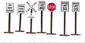 MTH-Electric O Road Sign Set