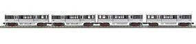 MTH-Electric O-27 3200 Subway w/PS3, CTA/Two Tone Silver (4)