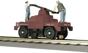 MTH-Electric O-27 Operating Hand Car, PRR
