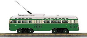 MTH-Electric O-27 PCC Street Car w/PS3, IT #457