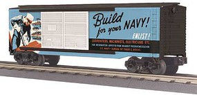 MTH-Electric US NAVY 40'DBL DOOR  BOX