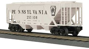 MTH-Electric O-27 H30A 3-Bay Covered Hopper, PRR
