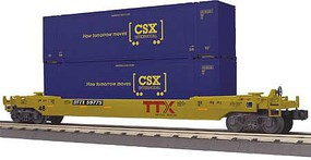 MTH-Electric O-27 Husky Stack, CSX #59775
