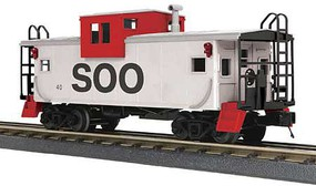 MTH-Electric O-27 Extended Vision Caboose, SOO