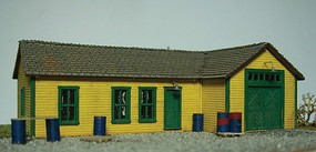 Motrack MOW Shed Kit N-Scale