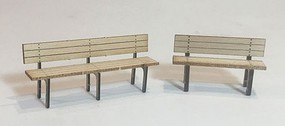 Motrack Depot Benches O-Scale