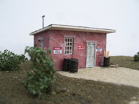 Motrack Supply Shed - HO-Scale