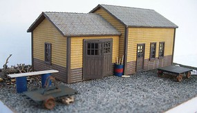 Motrack MOW Shed HO-Scale