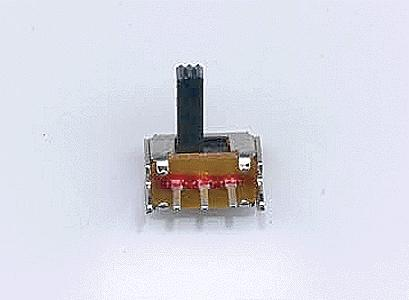 Miniatronics Corp. SPDT Miniature Slide Switch (4) -- Model Railroad Electrical Accessory -- #3805004