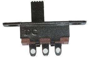 Miniatronics SPDT Sub Miniature Slide Switch (5) Model Railroad Electrical Accessory #3810005