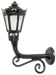 Outdoor Building Light (black)