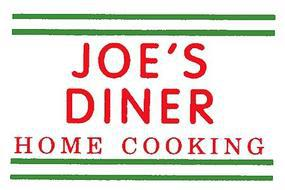 Miniatronics Joes Diner Home Cooking Electroluminescent Sign HO Scale Model Railroad Accessory #75e1501