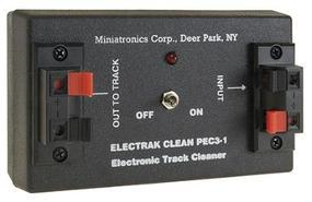 Miniatronics Electrak Clean Trackside Cleaner Model Railroad Electrical Accessory #pec31