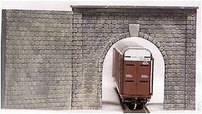 Motrak Single Track Tunnel Portal w/Wing Walls HO Scale Model Railroad Tunnel #12000
