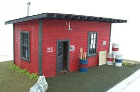 Motrak SUPPLY SHED KIT O Scale Model Railroad Building #43001