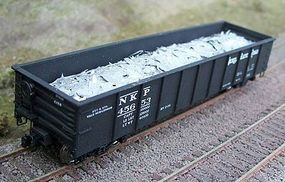 Motrak Scrap Aluminum Load for Accurail 41' Gondola HO Scale Model Train Freight Car #81103
