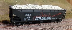 Motrak Marblehead Gravel Loads for Accurail 70 Ton Hopper (2) HO Scale Model Train Freight Car #81105