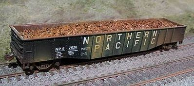 Motrak Models Scrap Metal Load for Athearn 50' Mill Gonodola -- HO Scale Model Train Freight Car -- #81203