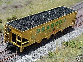 Motrak Coal Loads for Athearn 40 Quad Hopper (2-Pack) HO Scale Model Train Freight Car #81206