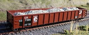 Motrak Marblehead Gravel Load for Athearn/MDC 52 Gondola (2) HO Scale Model Train Freight Car #81211