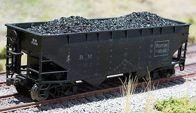 Motrak Coal Loads for Atlas 2-Bay Hopper (2-Pack) HO Scale Model Train Freight Car #81300