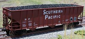 Motrak Coal Loads for Bowser 100 Ton 3-Bay Hopper (2) HO Scale Model Train Freight Car Load #81402