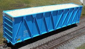 Motrak Woodchip Loads for ExactRail Woodchip Hopper (2) HO Scale Model Train Freight Car Load #81500