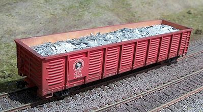 Motrak Scrap Aluminum Load for ExactRail 2420 Gondola HO Scale Model Train Freight Car Load #81502