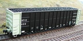 Motrak Resin Coal Loads for ExactRail FMC Gondola (2) HO Scale Model Train Freight Car Load #81510