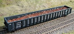 Motrak Scrap Metal Load for ExactRail 65 Mill Gondola HO Scale Model Train Freight Car Load #81512