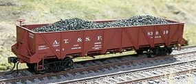 Motrak Coal Loads for Intermountain Caswell Gondola (2) HO Scale Model Train Freight Car Load #81655