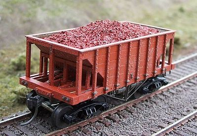 Motrak Resin Ore Loads for Tichy Ore Car (2-Pack) HO Scale Model Train Freight Car Load #81660