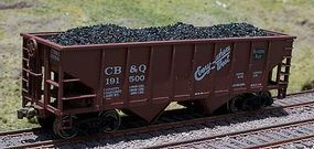 Motrak Coal Load For Walthers 36 2-Bay Hopper (2) HO Scale Model Train Freight Car Load #81700