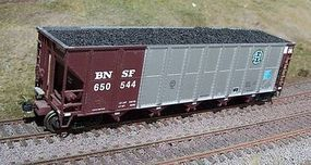 Motrak Resin Coal Loads for Walthers RD4 Hopper (2-Pack) HO Scale Model Train Freight Car Load #81705