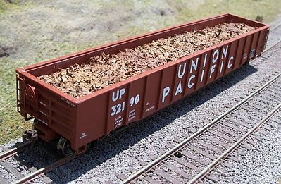 Motrak Scrap Metal Load for Walthers 53 Mill Gondola HO Scale Model Train Freight Car Load #81712